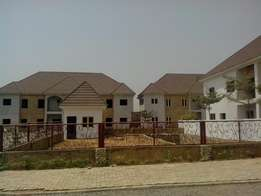 Now selling at Wuye: 4 bedroom with 1 room BQ semi detached duplexes