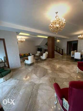Fully finished twin house/lowest price_in les rois Beside AUC_open vie