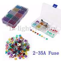100Pc Assorted 2Amp - 35Amp Fuse Kits for Sale!!