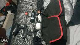 paintball gun..