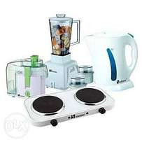 Electric Kettle,Blender,Cooker&Juice Extractor