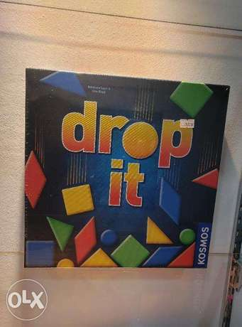 DROP IT PLAYERS: 2-4 AGES: 8 & UP Play Time: 30 min