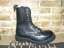 Черевики Steel 36-49 шкіра на 10 дір берци гади гриндера кожа ботинки 1731847124e45