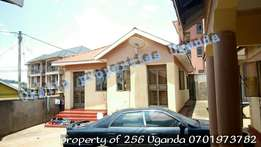 Spectacular 2 bedroom house in kireka at 450k