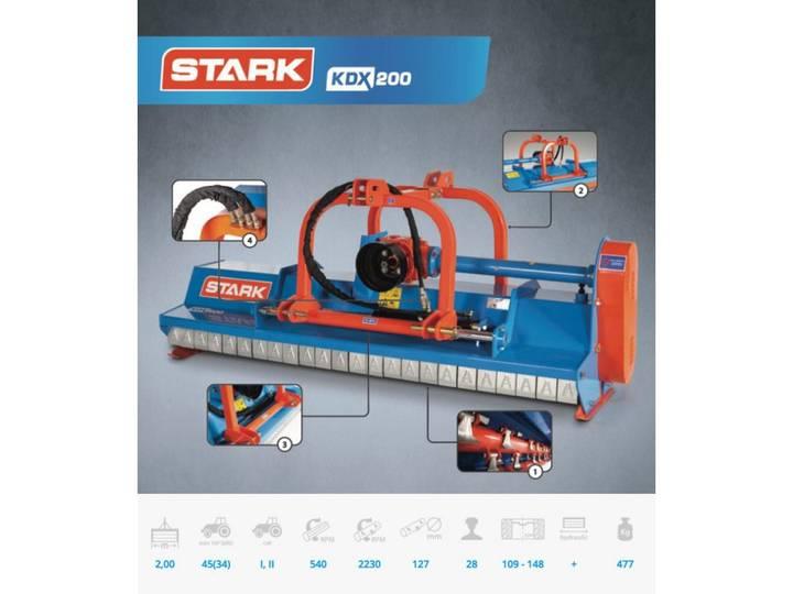 Stark side-shift klepelmaaier 2.00m t/m 2.40m - 2017