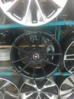 Alloyed rims & tyre palace rim and first grade toks tyre
