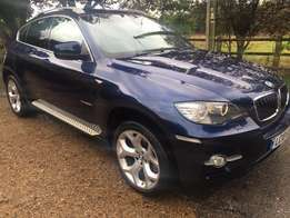 AVAILABLE 2010 BMW X6 3.0 30D diesel, full leather,in Lapsi Blue