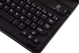 Wireless Bluetooth Keyboard 3.0PU Leather Stand Cover for iPad Mini