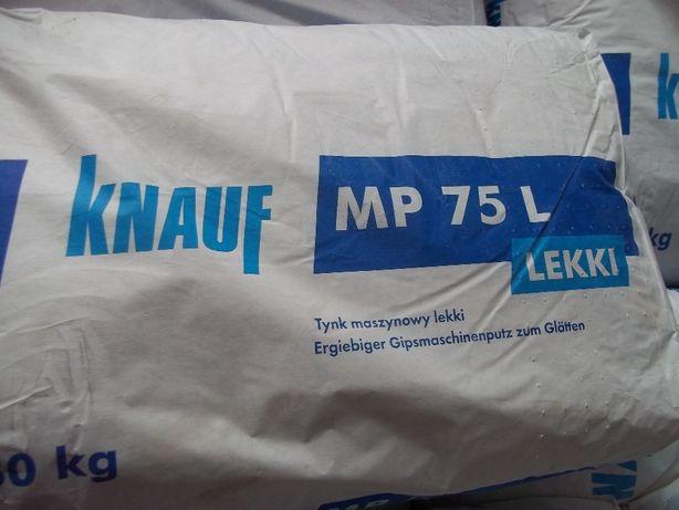 Knauf Mp75l Tynk Gipsowy Maszynowy Lekki 30 Kg Lapanow Olx Pl