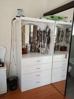 Dressing Table and Matching Cupboards