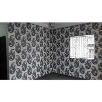 Affordable wall papers available.
