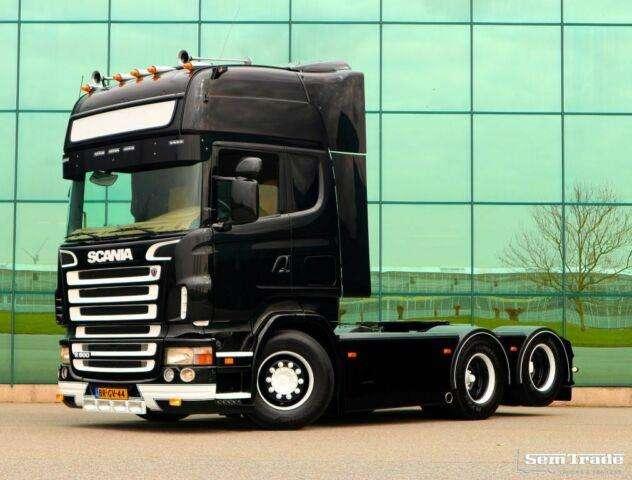 Betere Scania R500 V8 6X2 COMPLEET OPNIEUW GESTRAALD, GESPOTEN - 2005 te BB-13