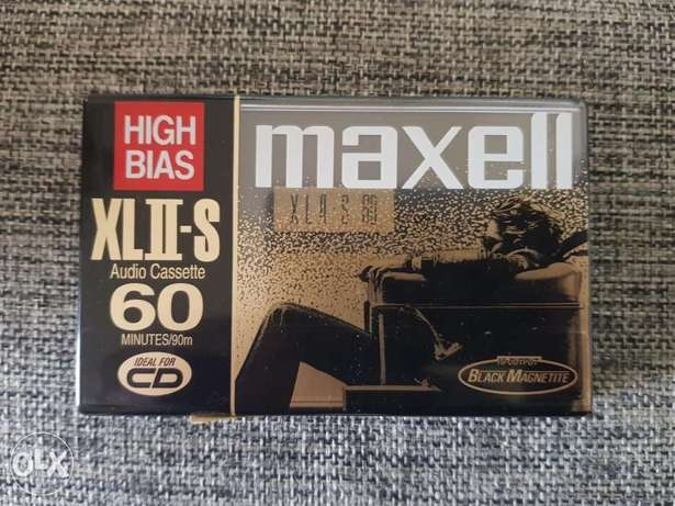Maxell XLII-S 60 , New sealed Tape Cassette