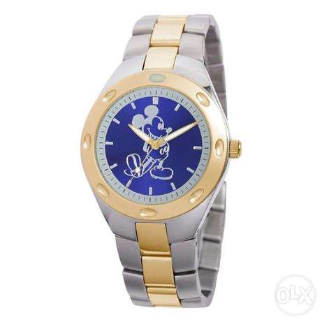 Mickey Mouse Two-Tone Watch – Mens