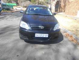 Toyota Runx 1.4 rs 2007 model Black in color 85000km R78000