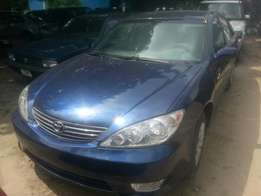 Tincan cleared tokunbo toyota camry 06 direct