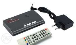 New Digital combo tv box. No Monthly payments. 200 channels, with usb