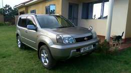 Nissan Xtrail model 2001 silver color in excellent condition