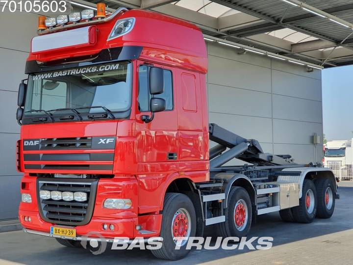 DAF XF105.510 8X4 NL-Truck! Manual Big-Axle Steelsuspension E... - 2008