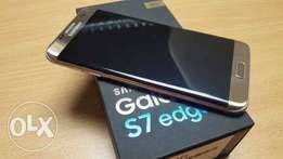 Samsung Galaxy S7 edge(New), Free glass protector & Free phone cover