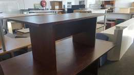 4 - 6 Seater Mahogany Boardroom Table, CapeOffice2nds!!