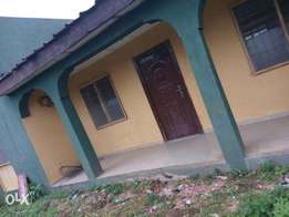 Clean 3 bedroom flat all tiles floor Alone in compound at Ayobo Ipaja