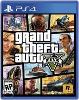 Official GTA 5 for Playstation 4 brand new sealed