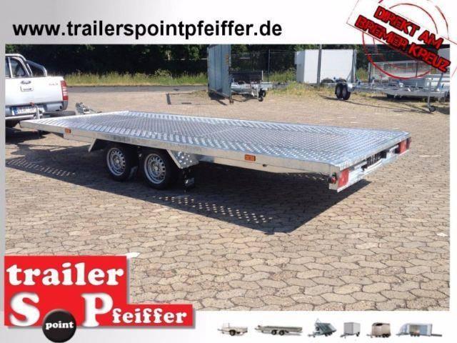 Multi Anhänger 510 x 210 3000 kg ALU Boden