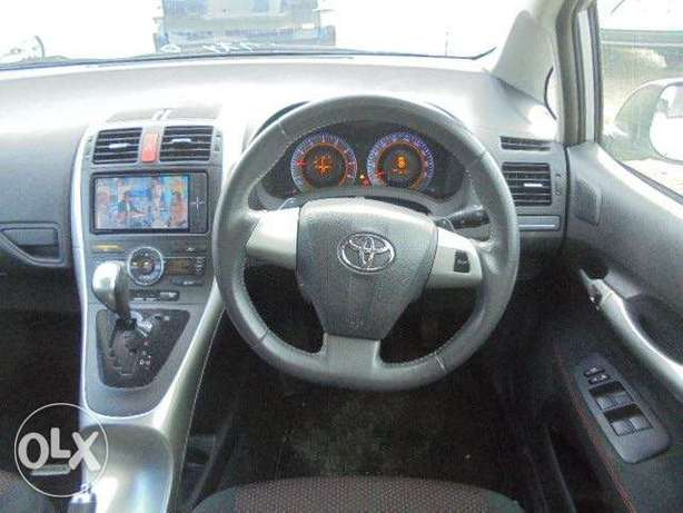 Toyota Auris Color Silver KCP number 2010 model Bamburi - image 3