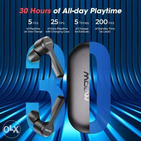 Mpow M9 TWS Earbuds True Wireless Bluetooth 5.0 Headphone IPX7 Waterpr الرياض -  4