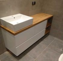Drewniane Wyposażenie łazienki Olxpl