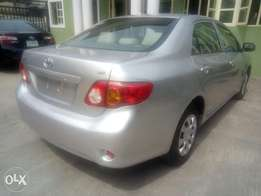 2008 model Toyota corolla clean tokunbo