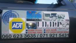 Alarm systems, cctv and electric fences