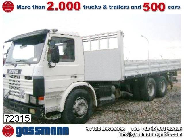 Scania 93p 280 6x2 umweltplakette rot - 1993