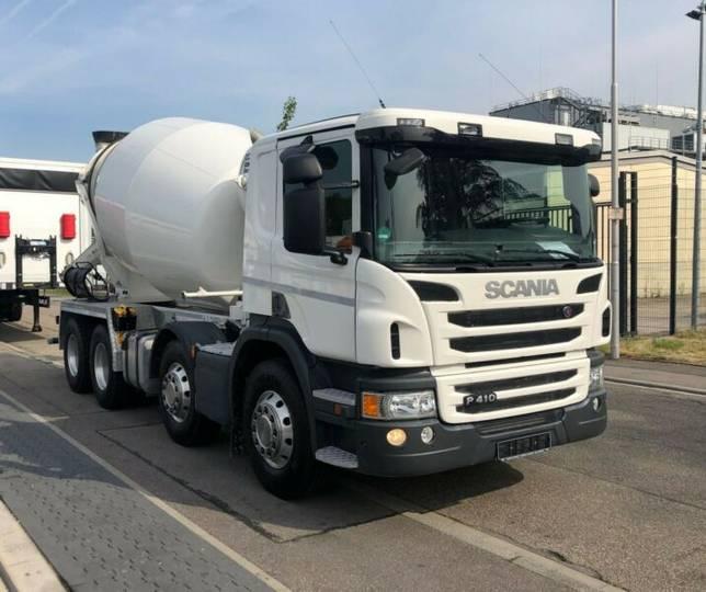 Scania P410CB8X4MSZ Betonmischer 9 cbm - 2018