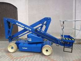 Cherry Picker - AB38 13.5 electric boom lift for hire