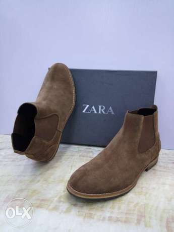 New Brown Zara Chelsea boot for men Lagos - image 2
