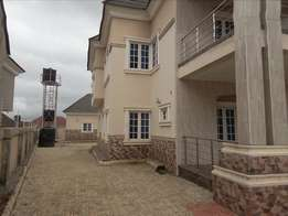 5bedroom detached duplex with 2rooms BQ for sale in estate at Gwarimpa