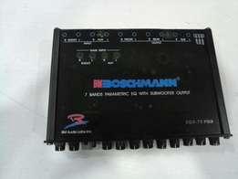 Boschmann 7 band parametric equalizer brand new in shop