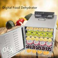 Digital Stainless Food Dehydrator With 6 Trays