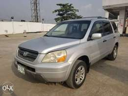 Neat and sound Honda pilot 2005moel for sale for 1.5m