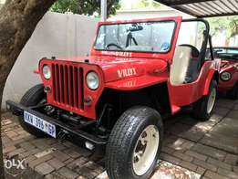 Stunning Jeep Cj2a replica