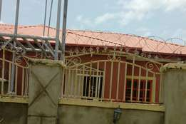 A semi detached two bedroom bungalo for rent at Trademore estate Lugbe