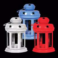 Multicolored Tealight Lanterns