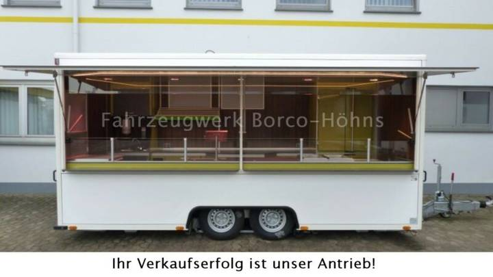 Borco-Höhns Verkaufsanhänger Seba - 2015