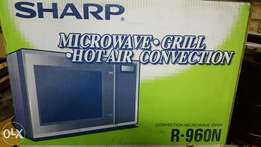 New Sharp microwave convection