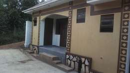 A national double room house for rent in bweyogerere at 300k
