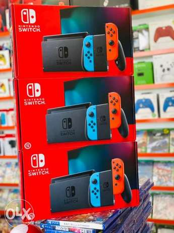 Nintendo switch now available in gamerzone all branches