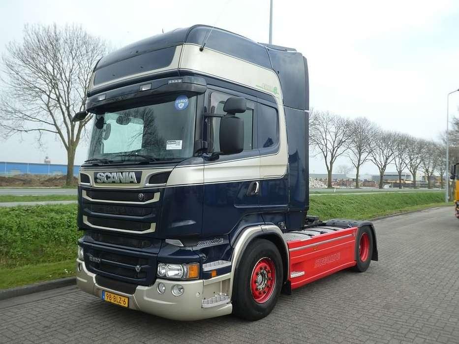 Scania R520 ret. frigo 2x tank - 2014