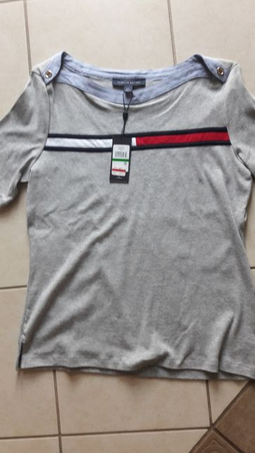 9ec894431b151 Tommy Hilfiger damska bluzka koszulka L z USA Marki - image 1